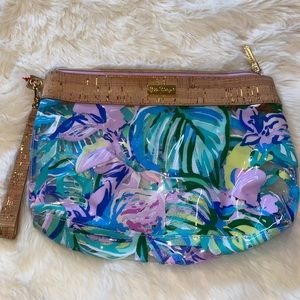 Lilly Pulitzer pool pouch Mermaid in the shadow
